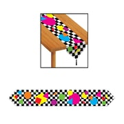 """Beistle Printed Party Shapes Table Runner, 11"""" x 6', 4/Pack"""