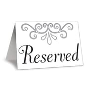 "Reserved Table Cards, 3"" x 4-1/4"", 20/Pack"