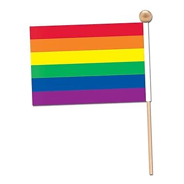 Rainbow Rayon Flag, 4