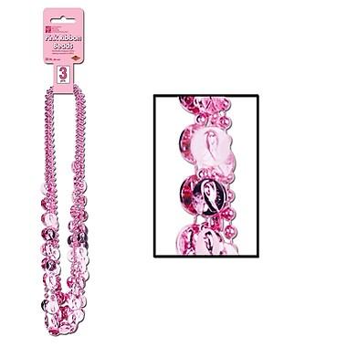 Pink Ribbon Beads, 33