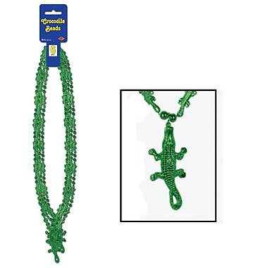 Collier de perles crocodile, 33 po, 18/paquet
