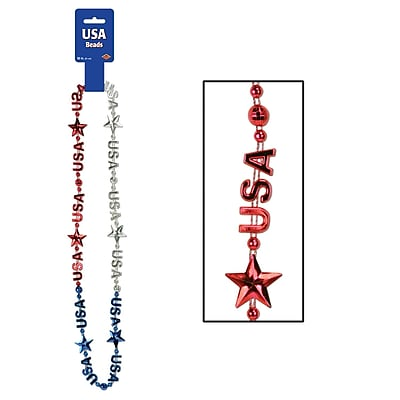 Beistle USA Beads Of Expression Necklace, 36
