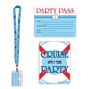 """Cruise Ship Party Pass, 25"""", 4/Pack"""