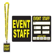 "Event Staff Party Pass, 25"", 4/Pack"