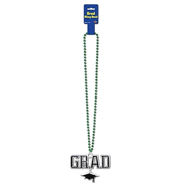 Beads With Grad Medallion, 36