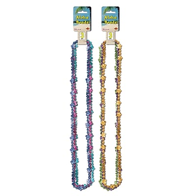 Beistle Aloha Beads Of Expression Necklace, 36