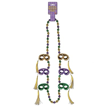 Mask With Tassel Beads, 40