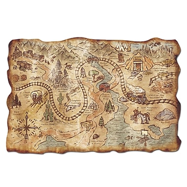Plastic Gold Mine Treasure Map, 12