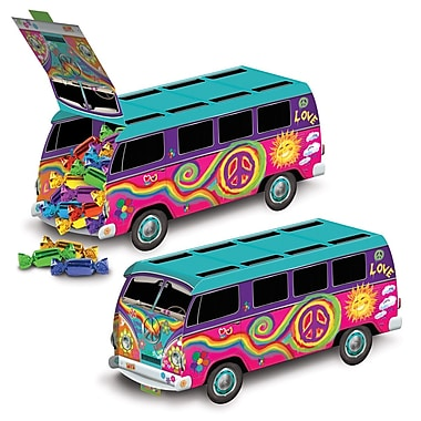 60's Bus Centerpiece, 9-3/4