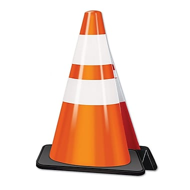 3-Dimensional Construction Cone Centerpiece, 11