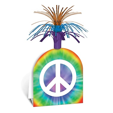 Beistle Peace Sign Centerpiece, 15