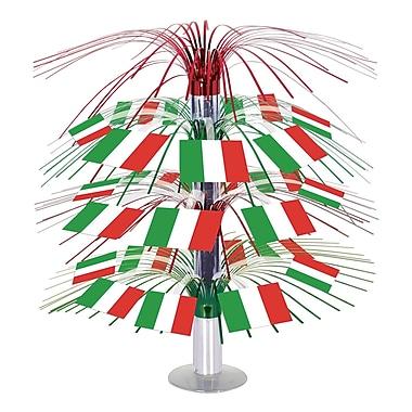 Centre de table en cascade drapeau italien, 18 po, 3/paquet