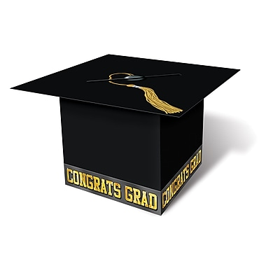Grad Cap Card Boxes, 8-1/2