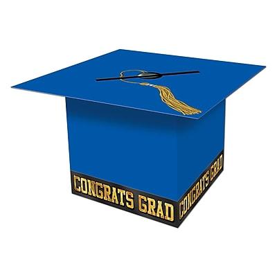 Beistle Graduation Cap Card Box, 8 1/2