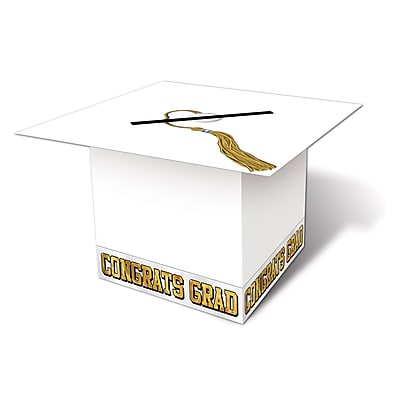 Beistle Graduation Cap Card Box, 8 1/2