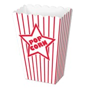 "Paper Popcorn Boxes, 2"" x 3-3/4"" x 5-1/4"", 40/Pack"