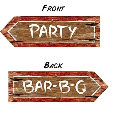Printed Redneck Party Sign, 6