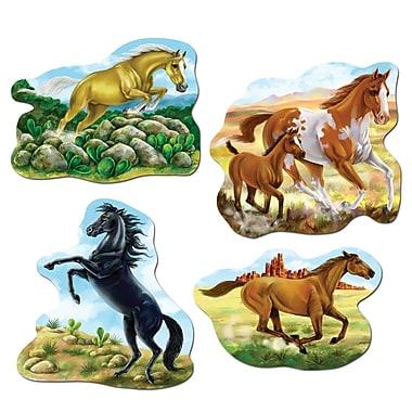 Horse Cutouts, 16