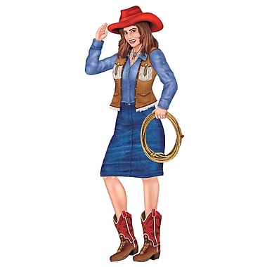 Jointed Cowgirl, 3', 3/Pack