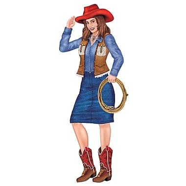 Cowgirl articulée, 3 pi, 3/paquet