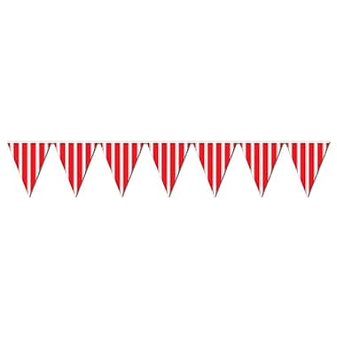 Striped Pennant Banner, 10
