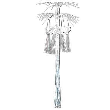 Beistle 3' Wedding Cascade Hanging Column, 4/Pack
