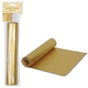 "Gold Lame Table Runner, 12"" x 50'"