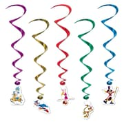 "Beistle 35"" Circus Whirls, 15/Pack"
