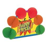 "Beistle 10"" Fiesta Pop-Over Centerpiece, 4/Pack"
