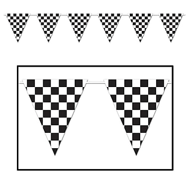 Checkered Giant Pennant Banner, 23
