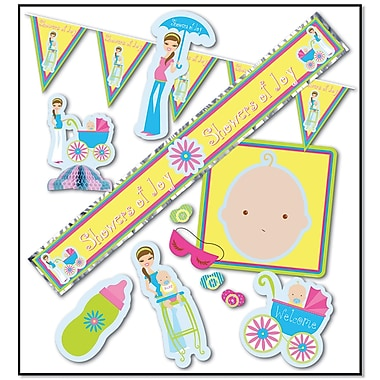 Showers Of Joy Party Kit, Assorted Sizes