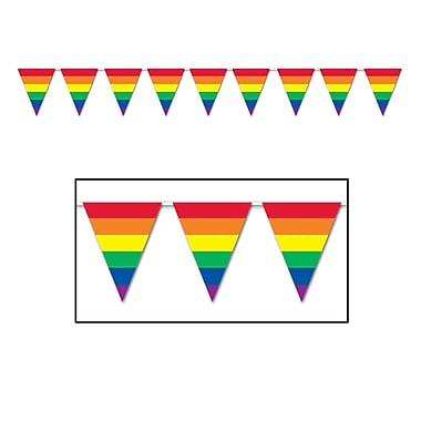 Rainbow Pennant Banner, 10