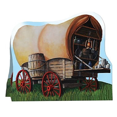 3-Dimensional Chuck Wagon Centerpiece, 7-3/4