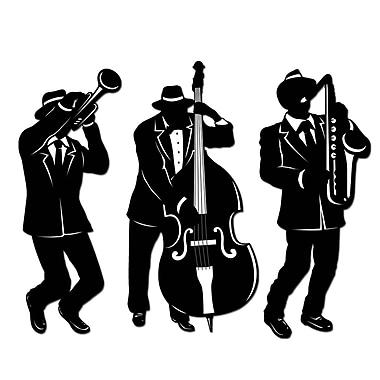 Jazz Trio Silhouettes, 18