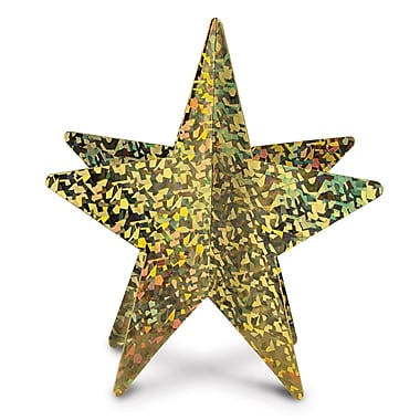 3-Dimensional Prismatic Star Centerpieces, 12