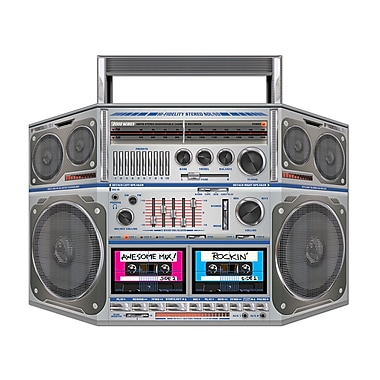 Beistle Boom Box Stand Up Cutouts, 3' 1