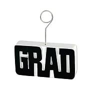 Beistle 6 oz. Grad Photo/Balloon Holder, Black, 3/Pack