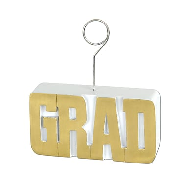 Porte-photo/ballon « Grad », 6 oz, doré, paquet de 3