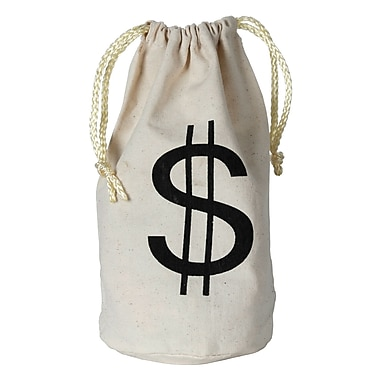 Petit sac $, 8 1/2 x 6 1/2 po, 4/paquet