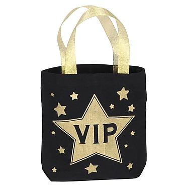 Sac cadeau VIP, 8 1/4 x 8 1/4 po, 4/paquet