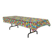 "Disco Tablecover, 54"" x 108"", Multi-Colour, 2/Pack"