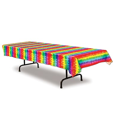 Beistle Tie-Dyed Tablecover, 54