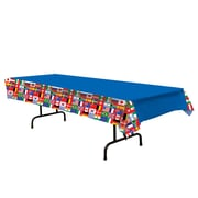 """International Flag Table Cover, 54"""" x 108"""", 2/Pack"""