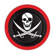 """Pirate Dinner Plates, 9"""", 24/Pack"""