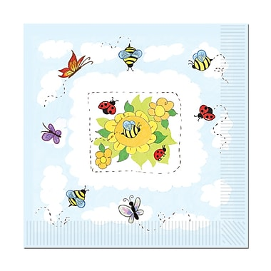 Garden Luncheon Napkins, 48/Pack