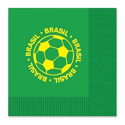 Beistle Luncheon Napkins, Brasil, 32/Pack
