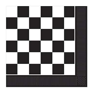 Checkered Luncheon Napkins, Luncheon, 48/Pack