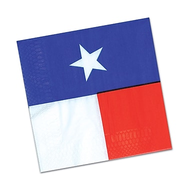 Texas Luncheon Napkins, 48/Pack