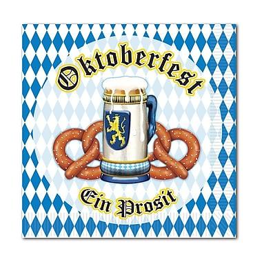 Serviettes en papier boisson Oktoberfest, paq./64