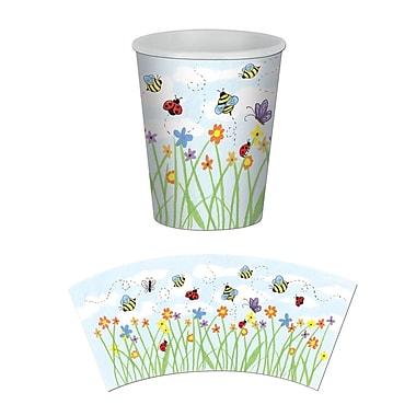 Beistle 9 Oz. Garden Beverage Cup, 24/Pack